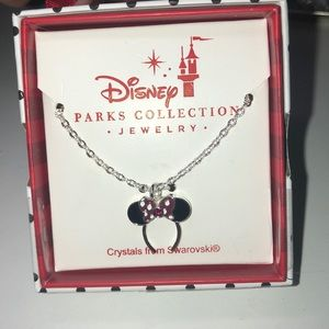 Minnie ear necklace from Disney parks